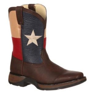 LIL' DURANGO Kids' Texas Flag Western Boot size 11